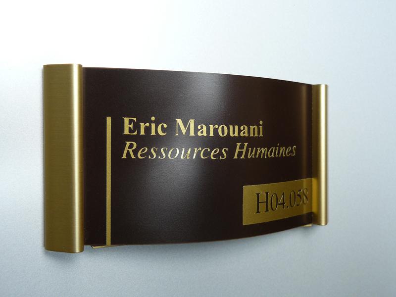 plaque signaltique porte perfect plaque signaltique porte. Black Bedroom Furniture Sets. Home Design Ideas